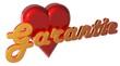 3D Herz - Garantie