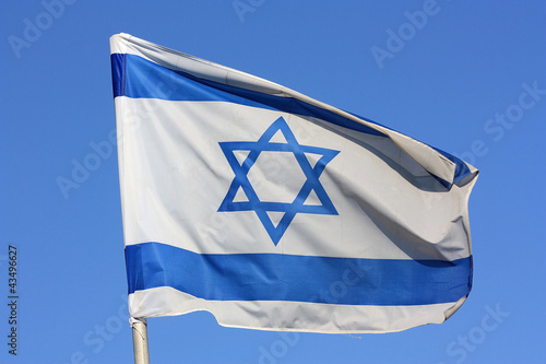 Israelische Nationalflagge