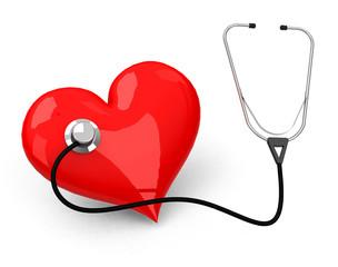 Das Abhören des Herzes
