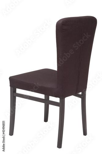 Poster black oak chair