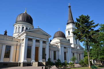 Свято-Преображенский кафедральный собор в Одессе.