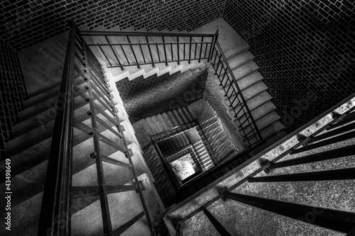 Escalier angulaire