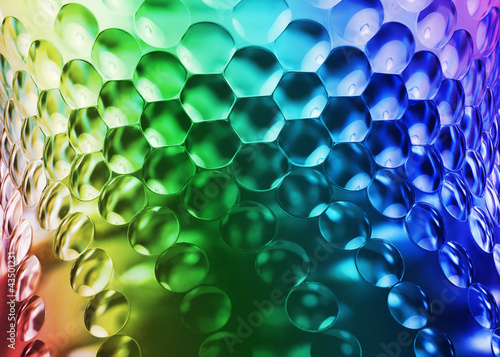 Abstract colorful background with protruding texture