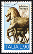 Postage stamp Italy 1973 Bronze Horses, San Marco, Venice