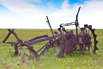 Antique Farming Plough