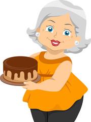 Senior Cake