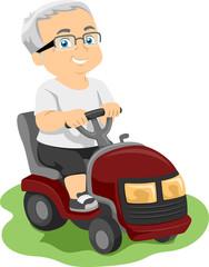 Senior Lawn Mower