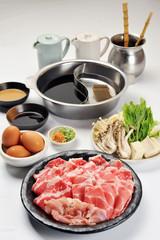 豚と鶏の二色鍋セット-1