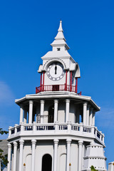 Clock tower in thailand