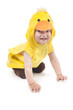ittle funny boy in chicken costume