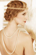 Retro twenties hairstyle