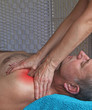 Myofascial work to deltoid muscle