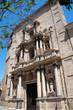 Valencia - Iglesia del Carmen, baroque facade