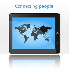 Connecting people in Tablet