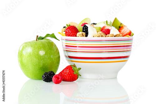 Gesunde Ernährung - Müsli zum Frühstück