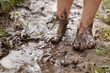 Feet in mud - 43518602