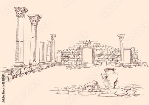 欧洲历史浪漫盔目的地石头纪念碑绘图经典翼老的艺术象徵载体雕塑see图片