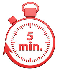 5 Minutes Chrono - Rouge