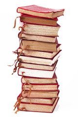 libri impilati