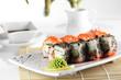 frest and tasty sushi