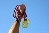 Fototapety Gold medal winner