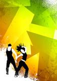 Fototapety Zumba dance fitness