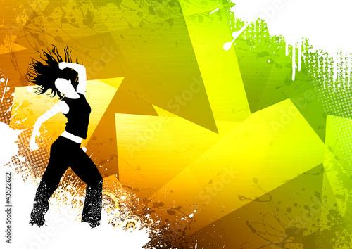 Zumba dance fitness - 43522622