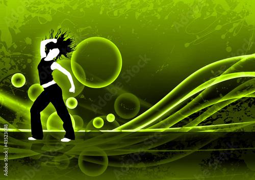 Zumba Fitness Banner Zumba Dance Fitness