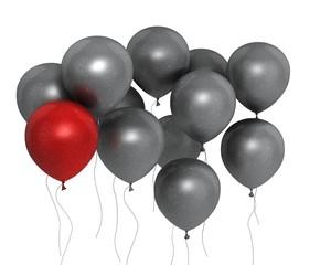 glitzer Ballons
