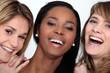 Laughing young women