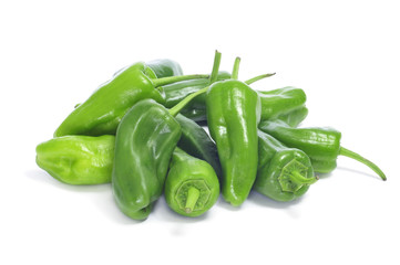Padron peppers typical of Spain