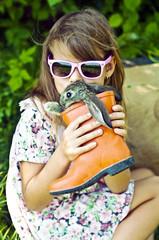 кролик в ботинке