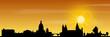 Mainz Skyline Sonnenuntergang
