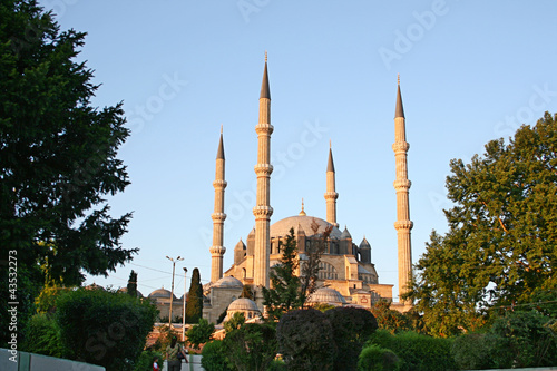 Selimiye Mosque in Edirne,Turkey