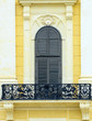 Schonbrunn palace in Vienna Austria - Terrace detail