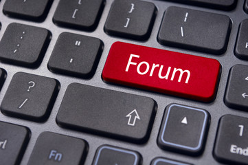 forum, online or internet discussion