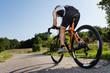 Triathlet auf dem Fahrrad - 43535209
