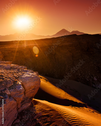 Atacama Burning
