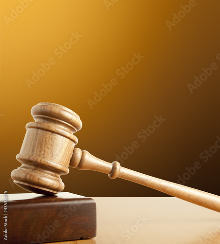 Old gavel