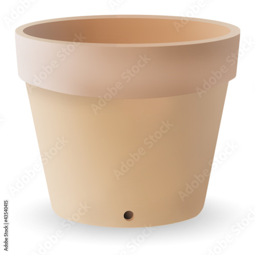Illustration of a flower pot