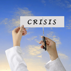 Struggle with crisis