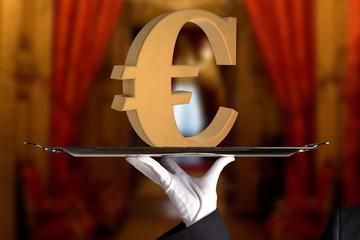 first class euro sign big money making