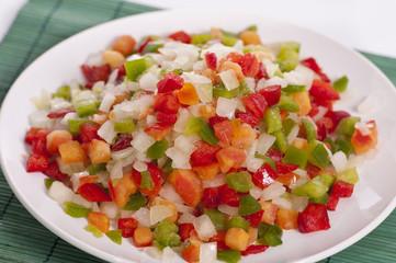 sofrito de verduras congeladas