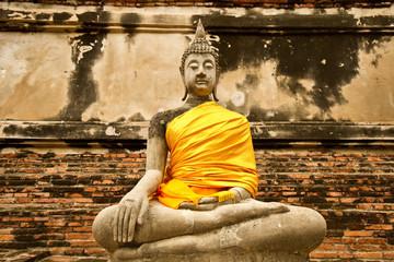 buddha in ayuthaya Thailand