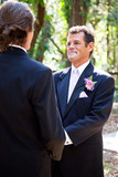 Gay Marriage - Handsome Latino Groom