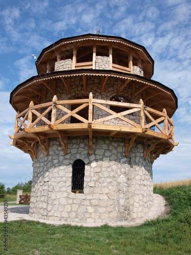Observatory tower, Krasnobrod, Poland - 43549210