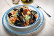 Spaghetti allo scoglio - spaghetti with mussels and clams