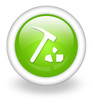 "Light Green Icon ""Rock Collecting"""