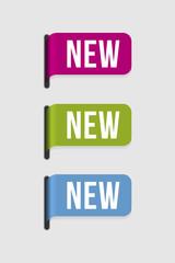 Modern  label – new