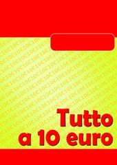TUTTO A DIECI 10 EURO ROSSO 03